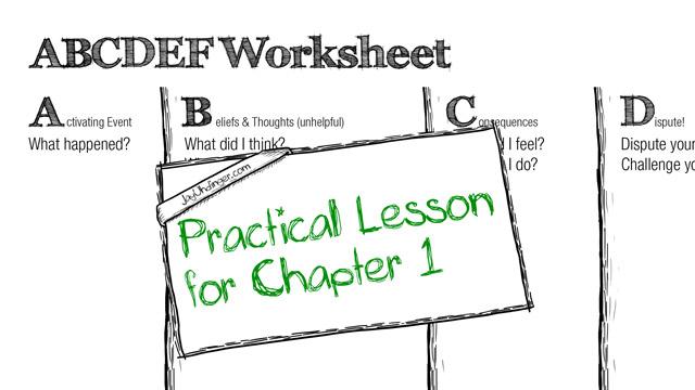 Chapter 1: Practical Lesson, ABCDEF Worksheet | Jay Uhdinger